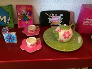 Mini juego de té de La Tienda del Centro